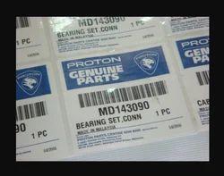 Auto Parts Labels