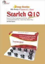 Coenzyme Q10,100mg,Eicosapentaenoic acid (EPA) 90mg,Docosahexaenoic Acid (DHA) 60mg,L-argini