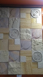 Teak CNC Pattern Mosaic 12 x 12, Thickness: 12 - 14 mm