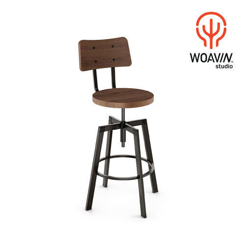 Groovy Woavin Industrial Commercial Art Deco Pub Club Nightclub Brewpub Adjustable Bar Counter Stool Pdpeps Interior Chair Design Pdpepsorg