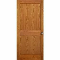 Finished Brown Plywood Door