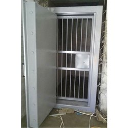 Powder Coated Mild Steel Safety Door, Thickness: 10 - 20 Mm, Single