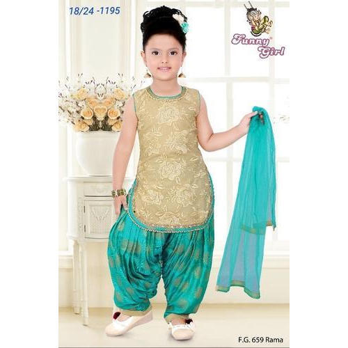 ae1d1fbdf Kids Patiala Suit at Rs 1100 /piece | Children Salwar Kameez ...