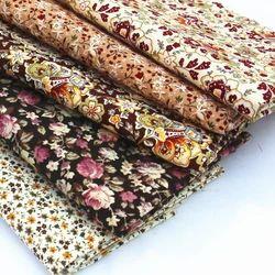 Indian Ethnic Design Printed Poplin Fabrics