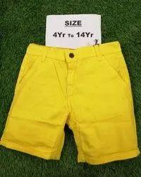 Kids Cotton Short