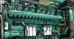 Sea Water Pump Generator Engine Cummins Model Kta 38- d ( M1 ) Edr Fc-012-Mech-Ii