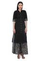 Cottinfab Women''s Cotton Kurta With Printed Palazzo