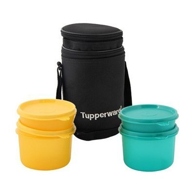 Tupperware Executive Lunch Box Set With Bag at Rs 700  unit ... 9543e88d43ed