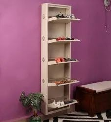 Wall Mounted Shoe Den Rack