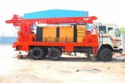 Truck Mounted DTH Cum Rotary Drilling Rig - only mounting