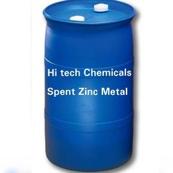 Spent Zinc Metal