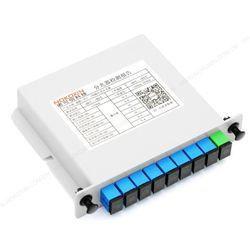 SC UPC 1x8 PLC Splitter Card Insertion Type
