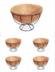 Coir Garden 8 Inch Round Ring Floor Basket