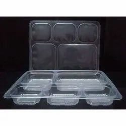 5 Compartment Disposable Food Tray