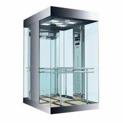 Glass Elevator Cabin