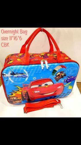 Imported Multicolour Kids Overnight Bag