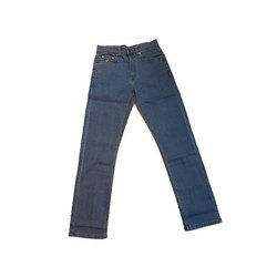 Mens Stretchable Denim Jeans, Waist Size: 28