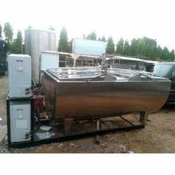 D Shape Bulk Milk Cooler
