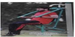 OUTDOOR GYM SINGLE SEATED PULLER