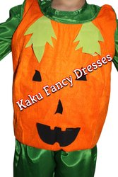 Kids Pumpkin Cutout Costume