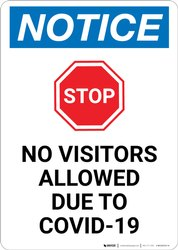Coronavirus Covid-19 Safety Posters