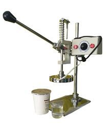 Hand Operated Cup And Jar Sealing Machine