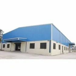 FRP Color Coated Steel shed contractors, For Commercial