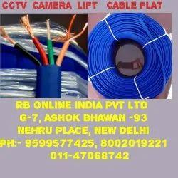 LIFT CABLE FLAT CCTV CAMERA