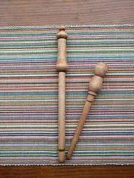 Conifer Natural Custom Made Wooden Nostepinnes for Yarn and Fiber Stores