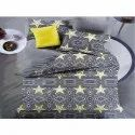 Star Printed Double Bed Sheets