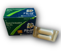 Ofloxacin & Serratiopeptidase Bolus(Vet)