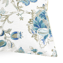 Floral Digital Print Cotton Cushion Cover