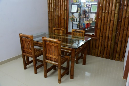 e280b0838f90 GIANT GRASS 4 - 8 Bamboo Dining Set, Rs 27500 /set, The Giant Grass ...
