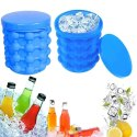 Blue Ice Cube Maker Genie Silicone (Itn-728-118)