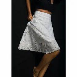 Wrinkle Viscose Skirts