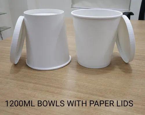 1200 ml  paper lid