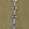 Indian Mystic Gemstone Jewelry 925 Sterling Silver Bracelet
