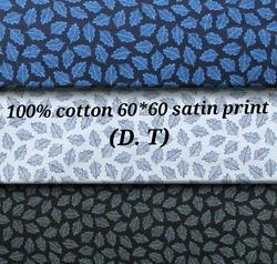Cotton Satin Print (D.T.)