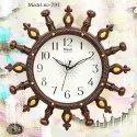 mauli plastic clock
