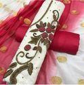 Vedant Fashion Embroidered Chanderi Silk Salwar Kameez Unstitched