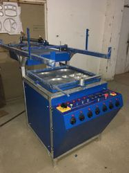 Heavy Duty Semi Thermocol Plate Machine