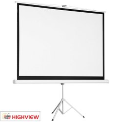 Highview 120 Inch Tripod Stand Projector Screen