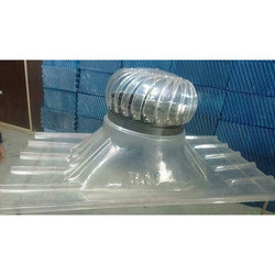 Transparent Polycarbonate Ventilator Base Plate