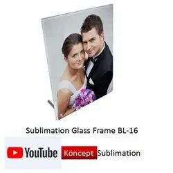 Sublimation Glass Frame BL 16