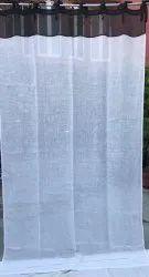 Linen White Door curtain