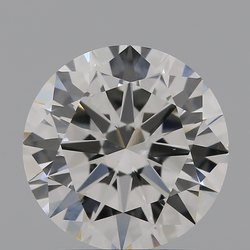 2.00ct Lab Grown Diamond CVD G VS1 Round Brilliant Cut IGI Certified Stone