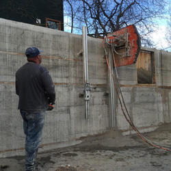 Concrete Wall Sawing Service
