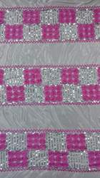 Ribbon Work Tent Fabric