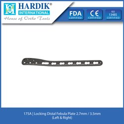 Locking Distal Febula Plate 2.7mm / 3.5mm