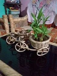 Bamboo Tricycle Flower Basket